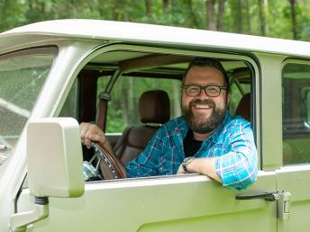 Rutledge Wood driving