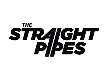 straight pipes logo
