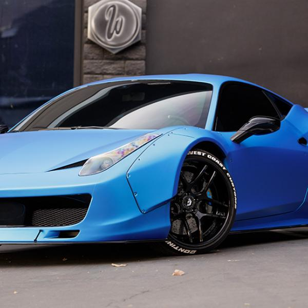 West Coast Customs Ferrari